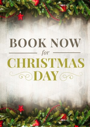 Book Now for Christmas Day