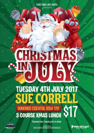 Christmas in July with Sue Correll