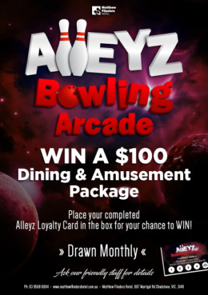 Win a $100 Dining & Amusement Package
