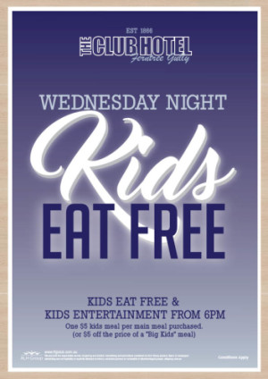 Wednesday Night Kids Eat Free