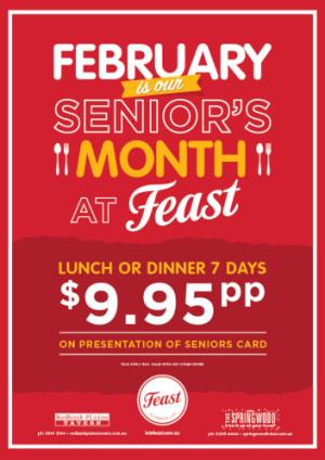 February Seniors Month