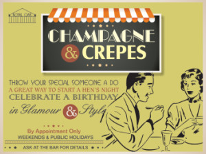 Champagne & Crepes