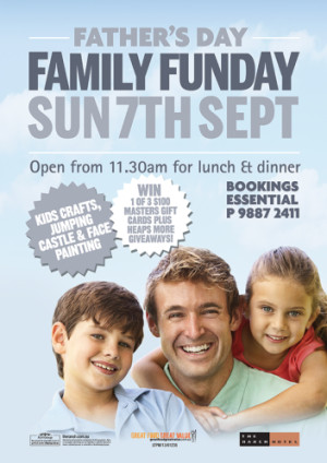 Father's Day Family Funday Sunday