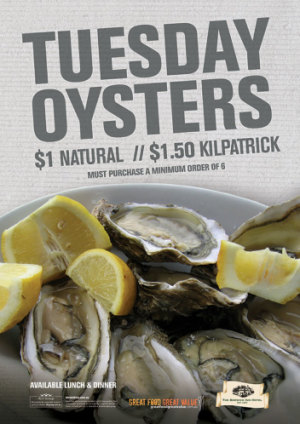 Tuesday Oysters