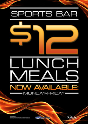 $12 Lunch Specials
