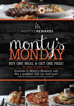 Monty's Mondays