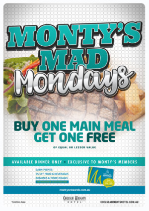 Monty's Mad Mondays
