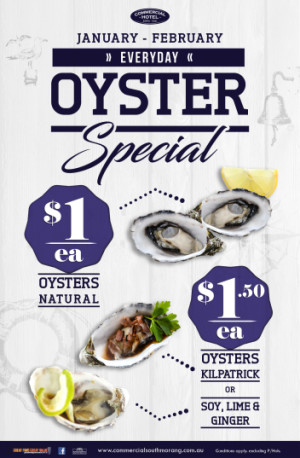 Every Day Oyster Special