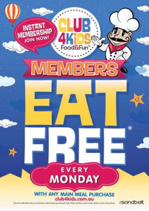 Kids Eat Free Mondays
