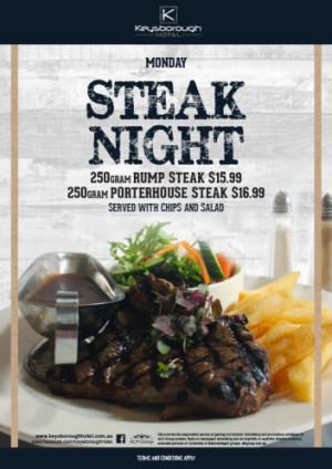 Monday Steak Night