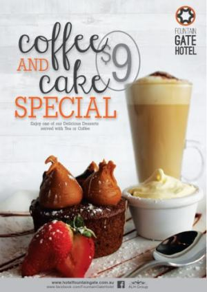 $9 Coffee & Cake Special
