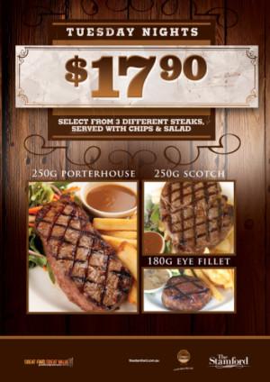 Tuesday Steak Night